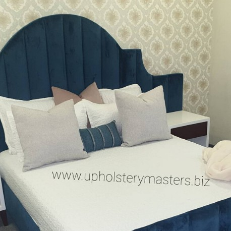 Upholstery Bed With Dressing Table