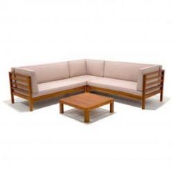 L-Shaped Garden Furniture
